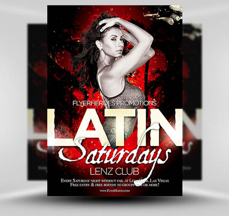 latin-night-flyer