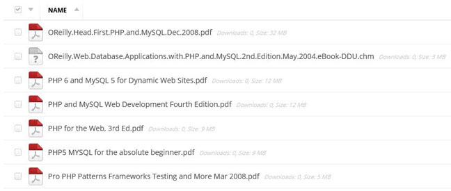 PHP Ajax eBooks